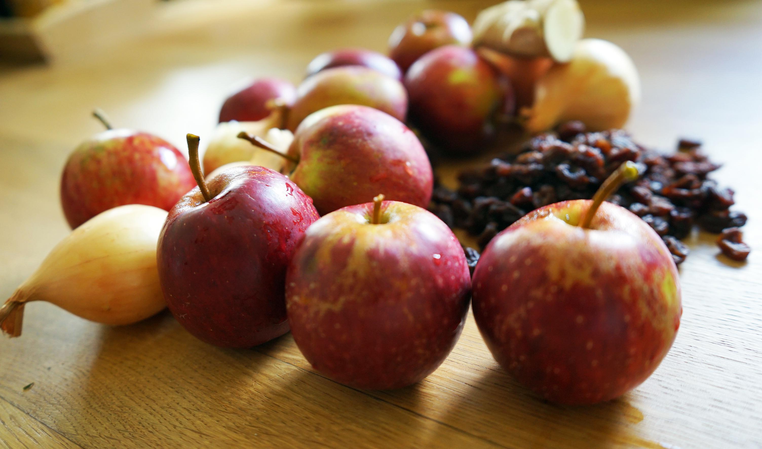 Apfel-Zwiebel-Chutney