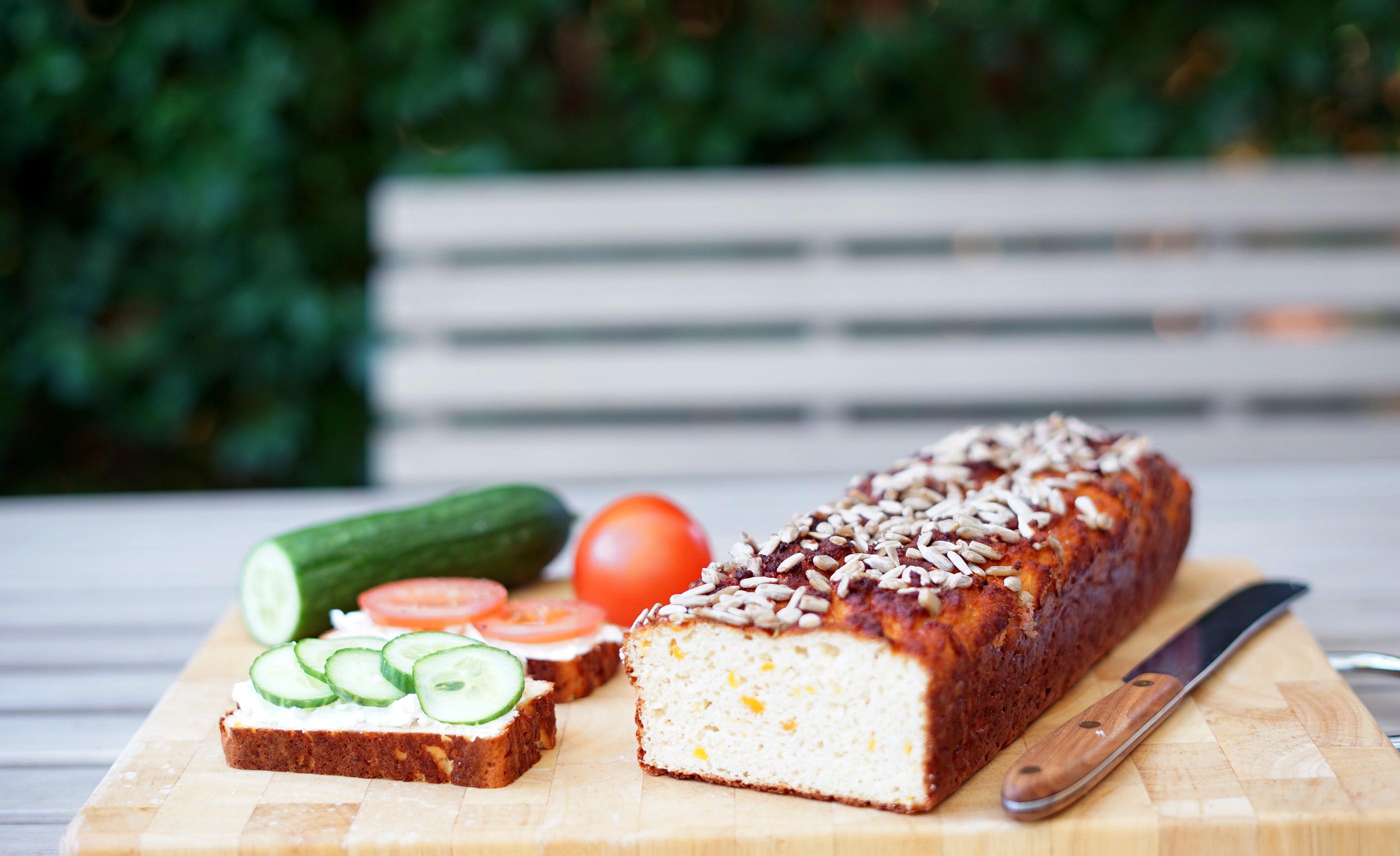 Karotten - Eiweiss - Brot
